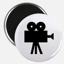 hollywood movie camera Magnet