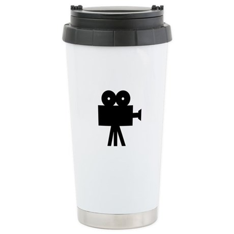 hollywood movie camera Stainless Steel Travel Mug