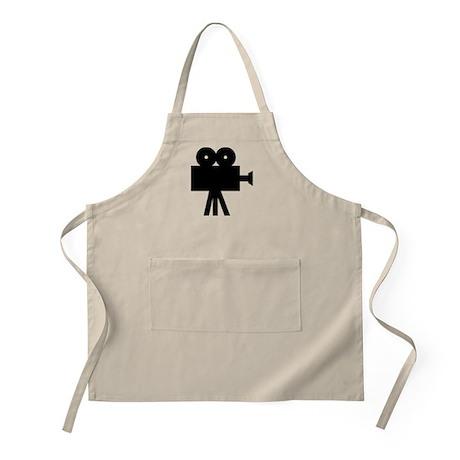 hollywood movie camera BBQ Apron