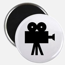 "hollywood movie camera 2.25"" Magnet (10 pack)"