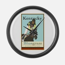 Travel Kentucky Large Wall Clock