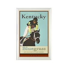 Travel Kentucky Rectangle Magnet