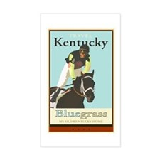 Travel Kentucky Rectangle Decal