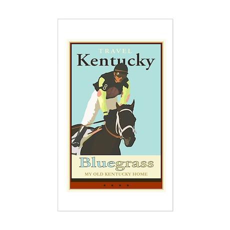 Travel Kentucky Rectangle Sticker
