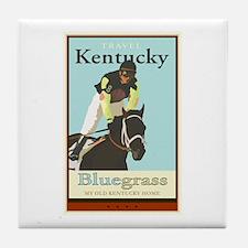 Travel Kentucky Tile Coaster