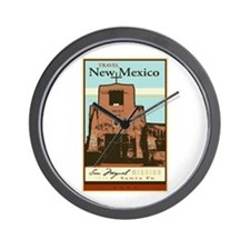 Travel New Mexico Wall Clock