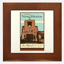 Travel New Mexico Framed Tile