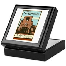 Travel New Mexico Keepsake Box