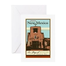 Travel New Mexico Greeting Card