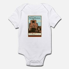 Travel New Mexico Infant Bodysuit