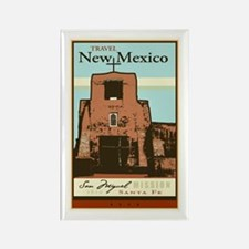 Travel New Mexico Rectangle Magnet
