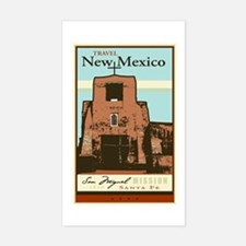 Travel New Mexico Rectangle Decal