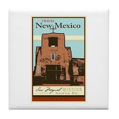 Travel New Mexico Tile Coaster