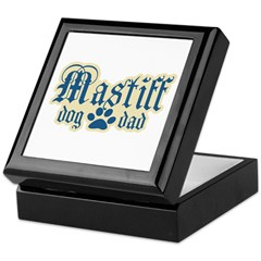 Mastiff Dad Keepsake Box