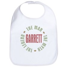 Garrett the Man Myth Legend Bib