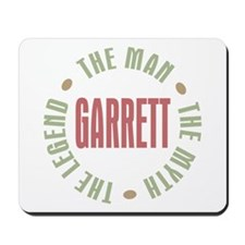 Garrett the Man Myth Legend Mousepad