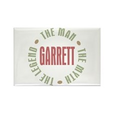 Garrett the Man Myth Legend Rectangle Magnet