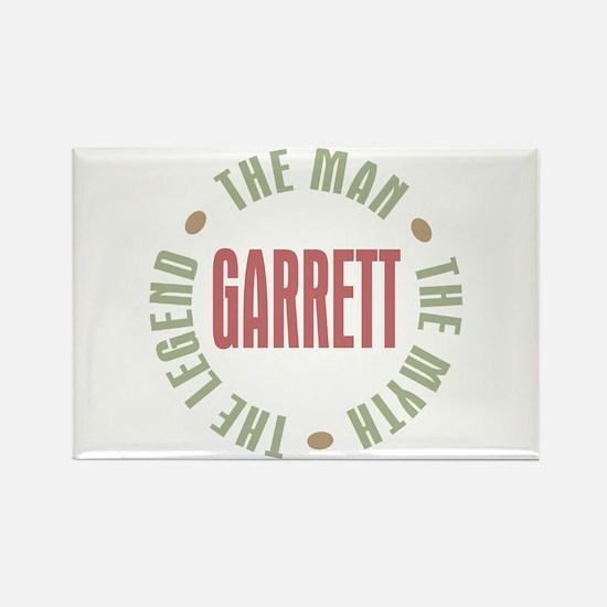 Garrett the Man Myth Legend Rectangle Magnet