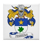 Figuera Coat of Arms Tile Coaster