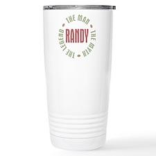 Randy Man Myth Legend Travel Mug
