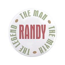 """Randy Man Myth Legend 3.5"""" Button"""