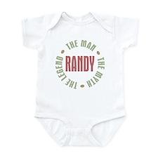 Randy Man Myth Legend Infant Bodysuit