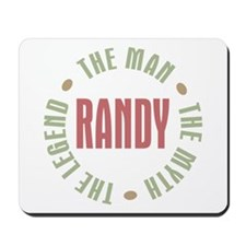 Randy Man Myth Legend Mousepad
