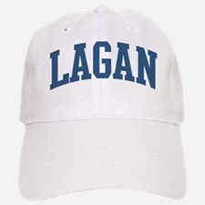 Lagan Last Name Collegiate Baseball Baseball Cap