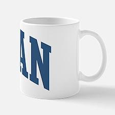 Lagan Last Name Collegiate Mug