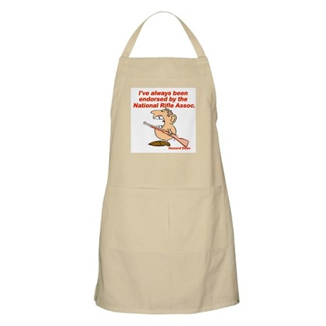 Endorsed by the NRA BBQ Apron