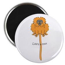 Golden lion tamarin Magnet