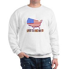 EXPERT TERRORIST HUNTER Sweatshirt