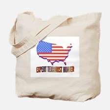 EXPERT TERRORIST HUNTER Tote Bag