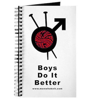 Men Who Knit Journal