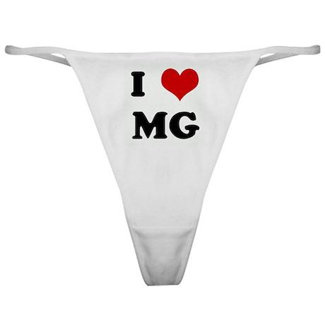 I Love MG Classic Thong