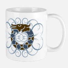 Tribal Dragon Design Mug
