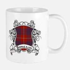 Hamilton Tartan Shield Mug