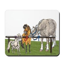 Hitched On Grass Mousepad