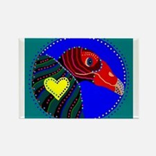 Turkey Vulture Rectangle Magnet