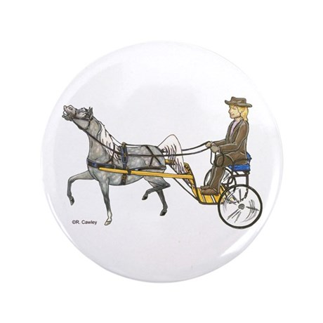 "Mini with cart 3.5"" Button (100 pack)"