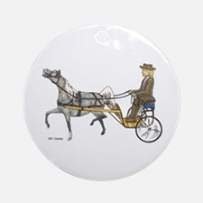 Mini with cart Ornament (Round)