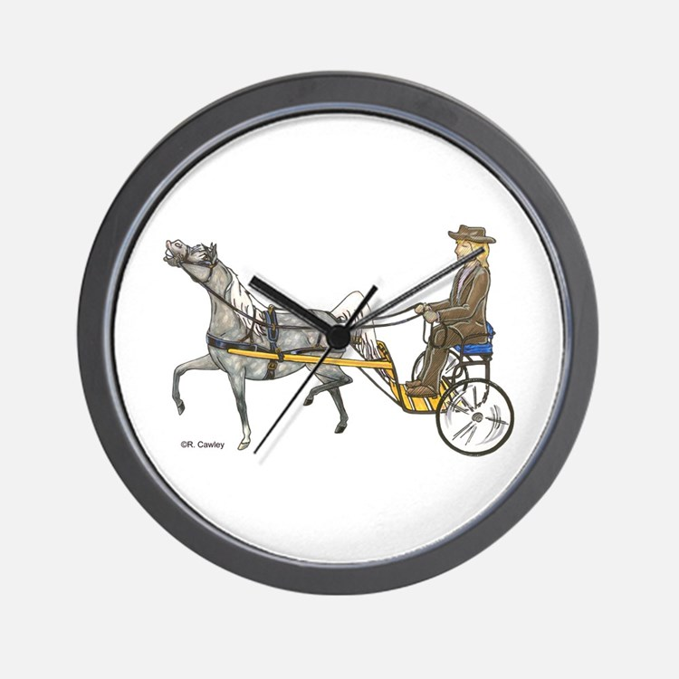 Mini with cart Wall Clock