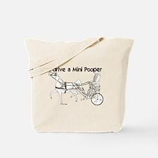 I Drive A Mini Pooper Tote Bag