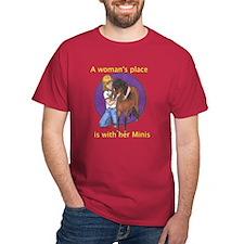 B Woman's Place T-Shirt