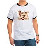 Basset Hound Mom Ringer T
