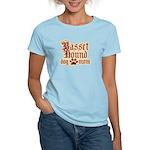Basset Hound Mom Women's Light T-Shirt