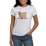 Basset Hound Mom Women's T-Shirt