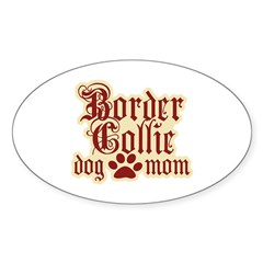 Border Collie Mom Decal