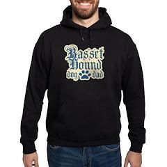 Basset Hound Dad Hoodie