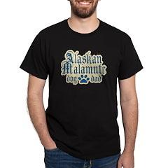 Alaskan Malamute Dad T-Shirt